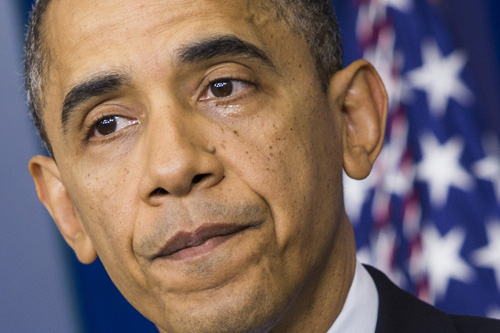 DC: President Obama Delivers Remarks On School Shooting