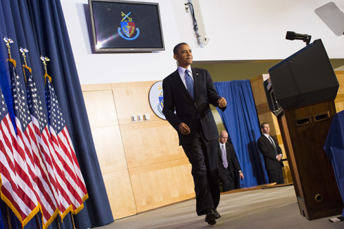 DC: President Obama Delivers Counterterrorism Policy Speech