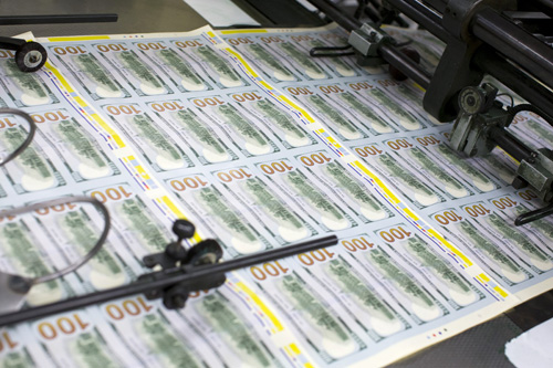 DC: Printing The New US $100 Bill