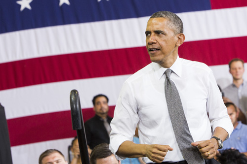 MD: President Obama Delivers Remarks On American Manufacturing
