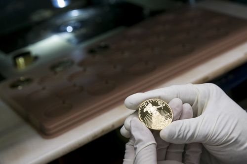 NY: Gold and Silver Coin Production at the West Point Mint